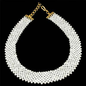 Surat Diamond Pearl Enchantment Necklace Sp352
