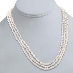 Surat Diamond Real Pearl Melody Of Life Necklace Sp78
