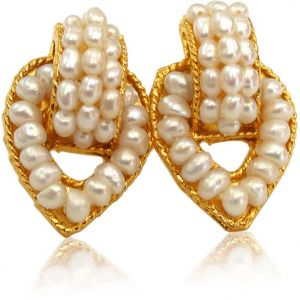 Surat Diamond Pearl Charmer Earrings Se50