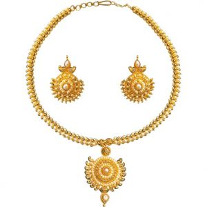 Surat Diamond Fine Pearl Delight Necklace Sp121
