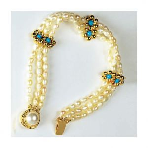 Pearl Jewellery - Surat Diamond - Moonlight Love Bracelet - SB5