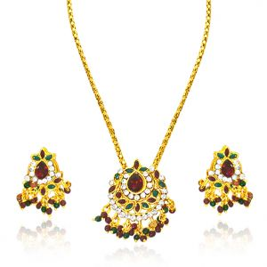 Surat Diamond - Fine Traditional Rajasthani Polki Set -ps4