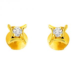 Surat Diamond Beautiful Belle Diamond Earring Studs S272