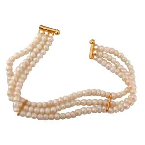 Surat Diamonds,The Jewelbox,Asmi Pearl Jewellery - Surat Diamond Pearl Braclet SB16_2