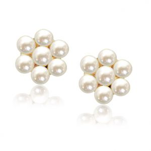 Surat Diamond Traditional Pearl Earrings