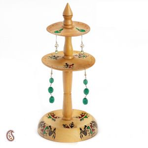 Hand Painted Earring Stand