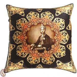 Royal Rajastani Collection Cushion Covers In Poly Velvet