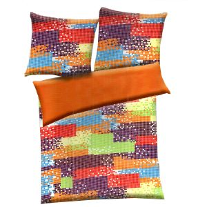Multicolor Polyester Abstract Print Double Bed Ac Quilt