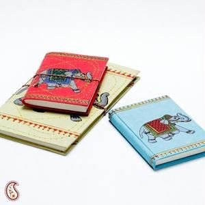 Regal Royal Elephant Printed Hand Made Paper Diary