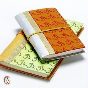 Block Printed Hand Made Paper Diary Set