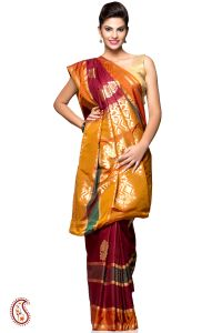 An Authentic Traditional Silk Saree