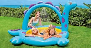 Inflatable Toys - Intex Pool With A Fountain Dino