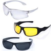 Day And Night Vision Sunglasses For Bikers And Car Drivers