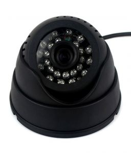 Plug And Play Cctv Dome Camera Video & Audio Recorder With IR And Inbuilt Dvr