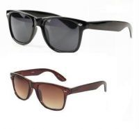 Buy 1 Get 1 Free- Wayfarer Style Sunglasses - Black & Brown