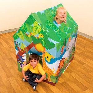 Best Quality Intex Branded Kids Fun Play Cottage Tent House - Gift Toys