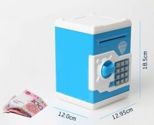 Safety lockers - Portable Electronic Money Safe Locker Save N Learn For Kids Money Safe