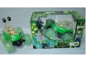 Cars, Bikes - Ben 10 Car With Stunt Light And Music