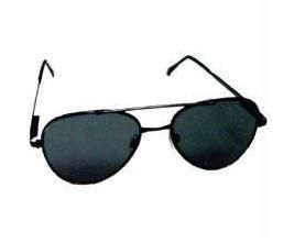 Pilot Looks Designer Sunglasses For Men Black Frame