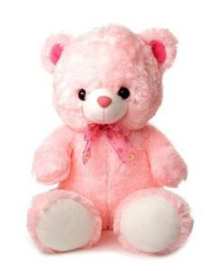 4 Ft Fur Super Soft Cute Pink Teddy Bear