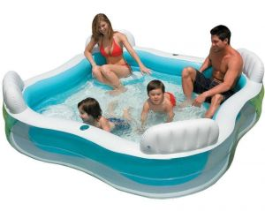 Intex Swim Center Lounge Pool Family Set