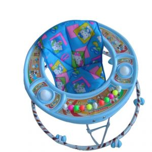 Toysezone Blue Baby Walker For Boys