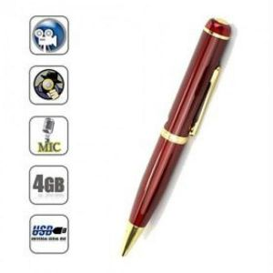 Spy Pen Camera With 4GB Memory