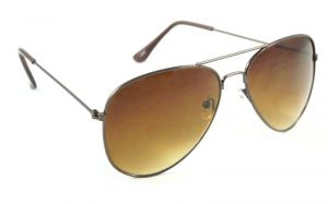 Indmart Aviator Sunglasses Brown Lens