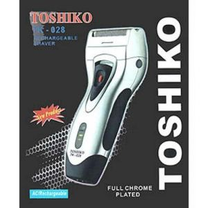 Toshiko Silver Tk Rechargeable Shaver
