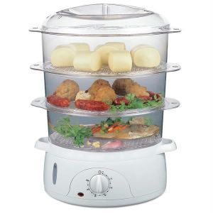 Premium Food Steamer 3 Layered