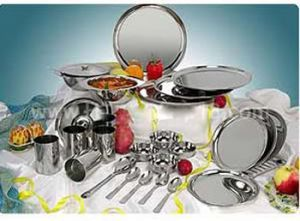 Dinner 52 PCs Stainless Steel Dinner Set