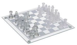 Premium Quality Crystal Glass Chess Set