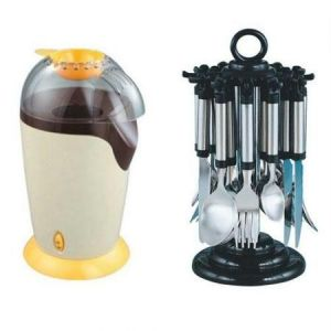 Popcorn Maker Stainless Steel Cutlery Set