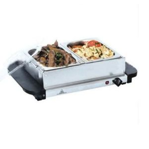 Buffet Server Electric With 2 Warming Trays