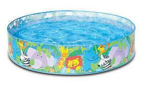 Kids Swimming Pool Inflatable 4 Inch X 10 Inch Bath Tub