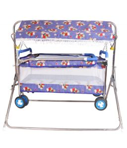 Indmart Baby Cradle With Cot Best Quality Strollers