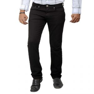 Premium Cotton Denim Black Jeans