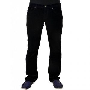 Indmart Cotton Denim Black Jeans