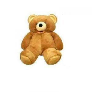 Indmart Trendy Teddy Bear Brown 6 Feet Life Size