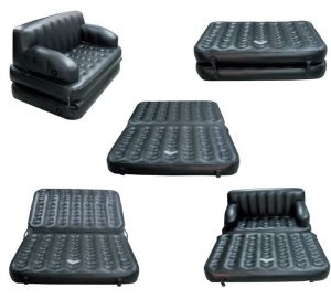 Latest Sofa Bed With Electric Filling Pump