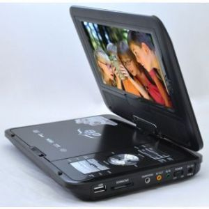 Video Players - INDMART 7.8 Inch Portable DVD Player Cum Game Console With Fm,tv & Usb,av In Out