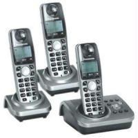 Cordless Phones - Panasonic Triple Set Answering Machine Model No: KX-TG7233