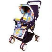 8 Wheel Baby Stroller Compat And Sturdy