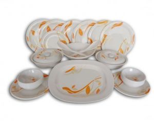 32 PCs Platinum Melamine Dinner Set
