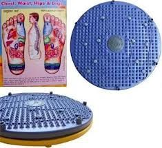 Personal Care & Beauty - 4 In 1 Accupressure Magnetic Pyramid Twister Foot Mat Round