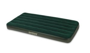 Intex Twin Prestige Downy Camping Bed With Portable Electric Pump