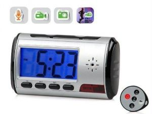 Spy Hidden Digital Table Clock Camera