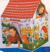 Dolls, Doll Houses - Full Size House Tent Hut Cottage For 2 Children