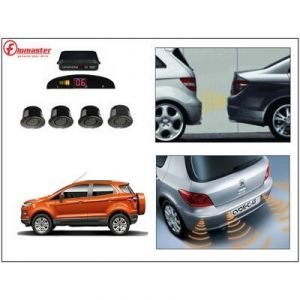Automobile Accessories - Flomaster Premium Car Reverse Parking Sensor Black - Ford Ecosport - Product Code - (wv0012498-ford Ecosport)