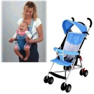 Baby Pram Stroller And Baby Carrier